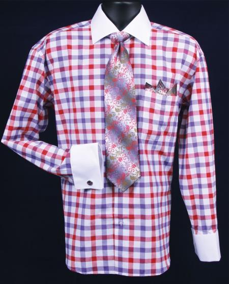 Cuff Dress Shirt Combo