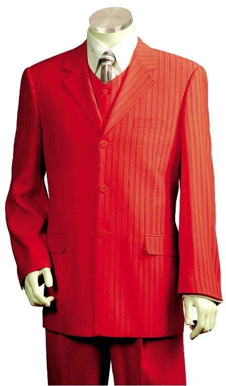 Red-Color-Zoot-Suit