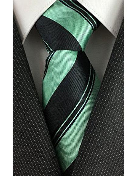 Regular-Necktie-Black-With-Mint-32219.jpg