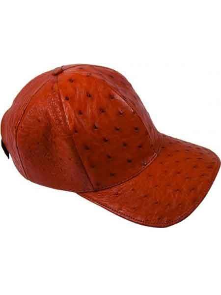 Rust-Color-Alligator-Skin-Cap-28505.jpg