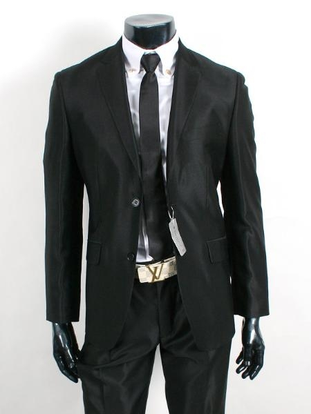 Shiny-Black-Two-Buttons-Jacket-5284.jpg