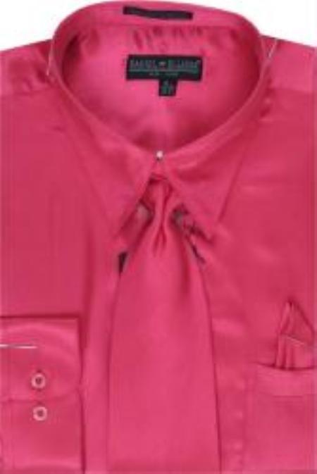 Shiny-Fuschia-Color-Shirt-Tie-4543.jpg