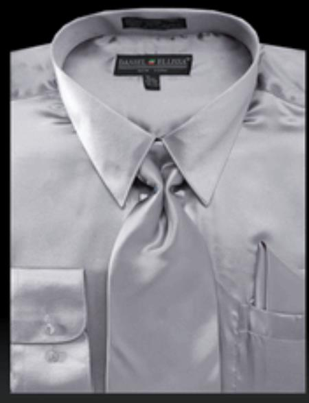 Shiny-Light-Gray-Shirt-Tie-30754.jpg