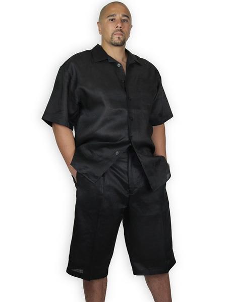 Shorts-Black-Casual-Linen-Suit-31317.jpg