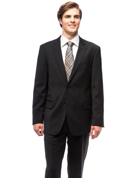 Single Breasted Black Color Suits