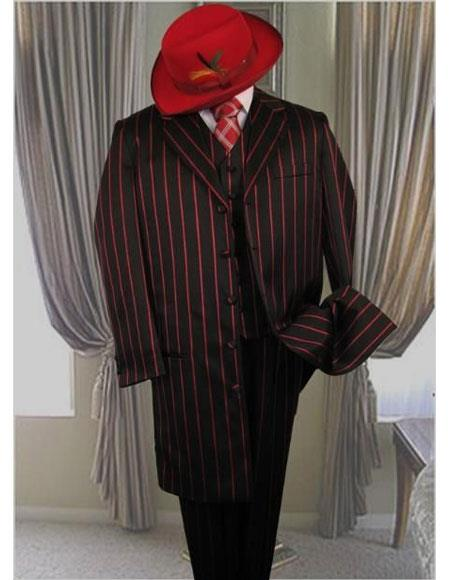 Single-Breasted-Black-Zoot-Suit
