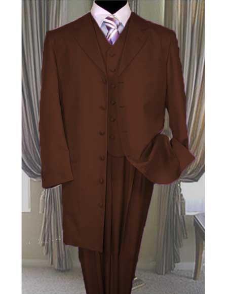 Brown Zoot Suit