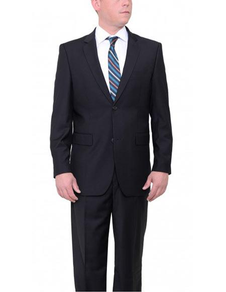 Single Breasted Charcoal Gray Suit