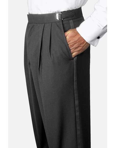 Solid-Black-Polyester-Wool-Pants-30940.jpg