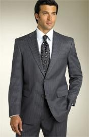 Two-Button-Black-Wool-Suit