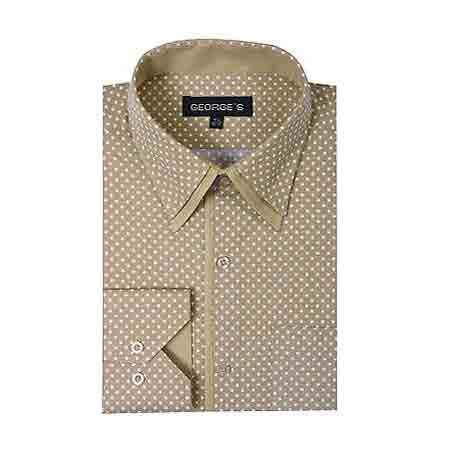 Tan-Dot-Design-Dress-Shirt-27260.jpg