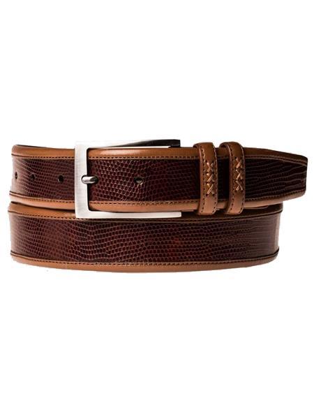 Tan-Genuine-Lizard-Calfskin-Belt-39257.jpg