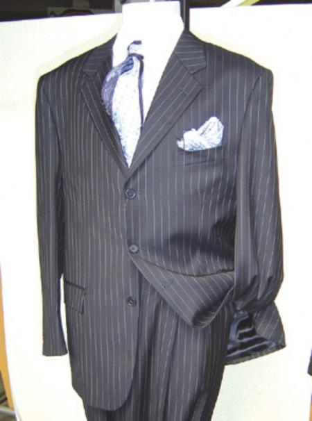Three Buttons Black Business Suit