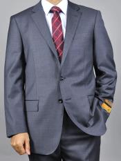 Charcoal Grey Color Wool Suit