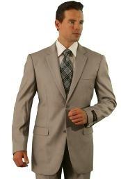 Dark Tan Affordable Suit