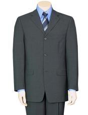 Gray Pure Wool fabric