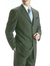 Olive Green Pure Wool