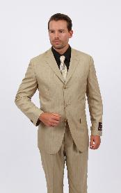 Three Buttons Tan Color Sportcoat