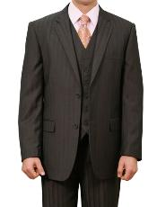 Two Buttons Black Suit