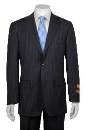 Two Buttons Gray Wool Suit