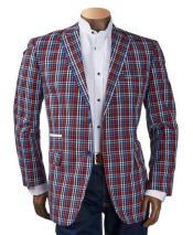 Plaid Pattern Suits