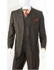 Black Side Vents Suit