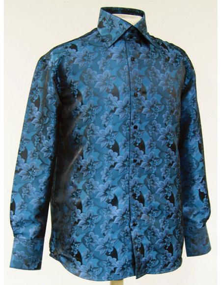 Turquoise-Shiny-Floral-Pattern-Shirt-34337.jpg