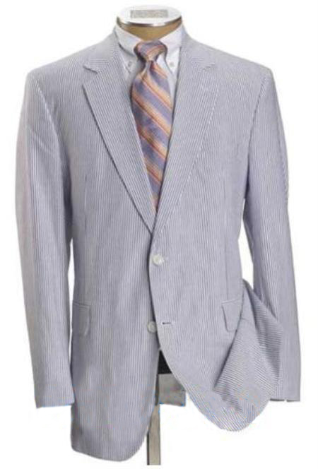 Two Button Light Blue Suit