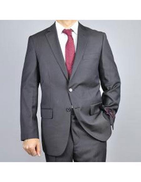 Two Buttons Black Color Suits