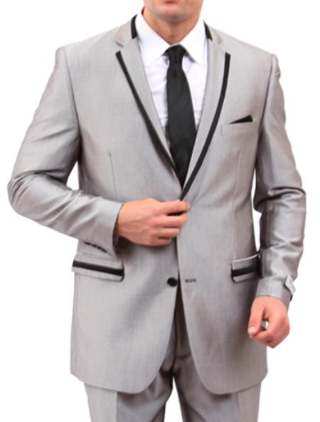 The features what men should note in slim fit suits