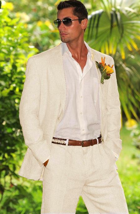 "Mens White Wedding Tuxedos: Saying ""I Do"" In Style"