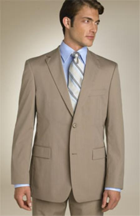 Tan Color Suit