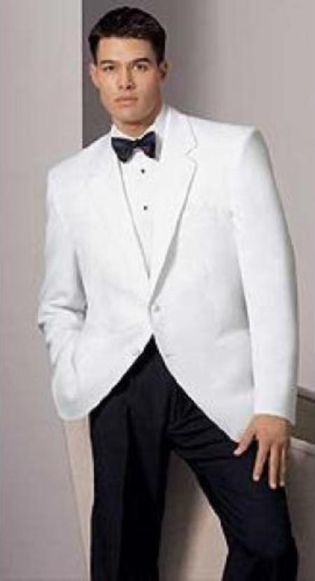 White dinner jackets have been a formal wear option in warm climates since the 's. It is a truly elegant form of dress that is typically worn during summer months (from Memorial Day and Labor Day).