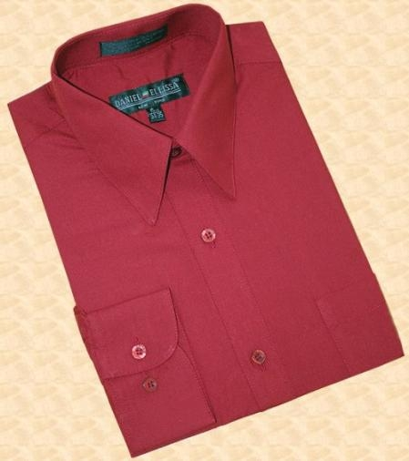 Wine-Color-Cotton-Dress-Shirt-5095.jpg
