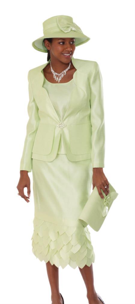 Womens-Lime-Color-Dress-Set-17084.jpg