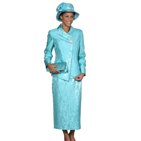 Womens Dress Combo turquoise ~ Light Blue Stage Party