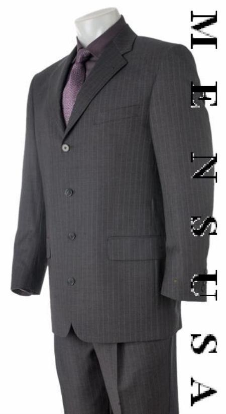 SKU# HW04 Absolutely stunning! Deep Charcoal Gray & Smooth Pinstripe Super finest fabric super soft $199