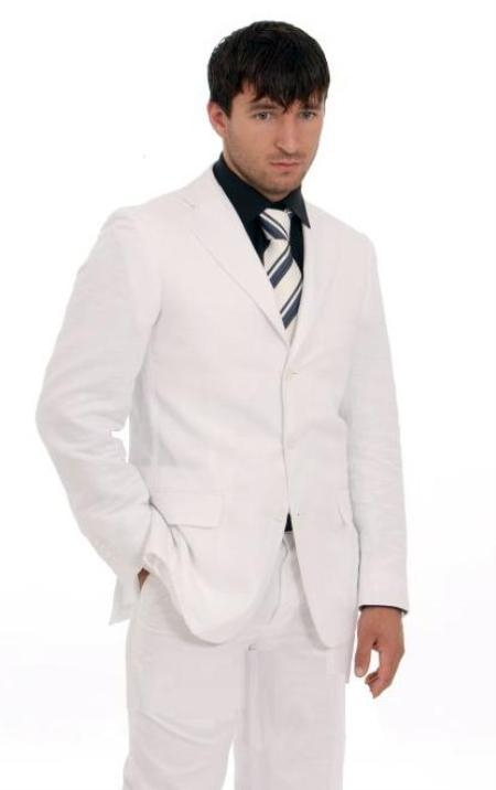 White Shirt With White Tie