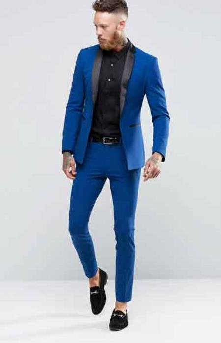 How to Wear Electric Blue Jacket