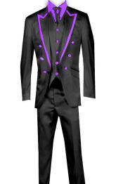 Piece Blazer+Trouser+Waistcoat Trimming Tailcoat