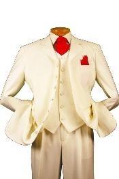 Button High Vest Color