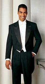 Full Dress Black Tailcoat