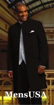 Black Zoot Suit Style