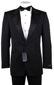 Button Peak Lapel 100%