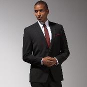 Mantoni Brand Black Suit