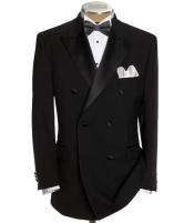 Double Breasted Tuxedo Jacket