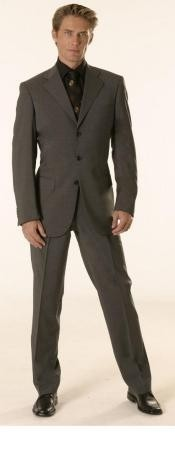 Gianni Charcoal Gray Super