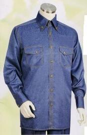 Blue Long Sleeve 2pc