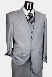Mens Gray Suits
