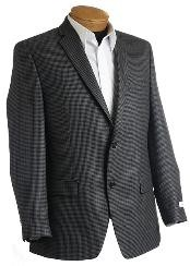 Designer Gray/Black Tweed houndstooth
